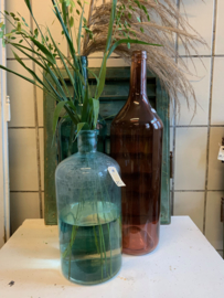 Oude glazen fles