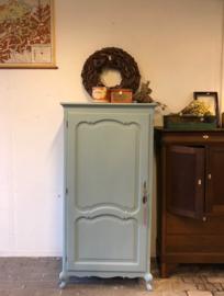 Kledingkast 1 deur groen