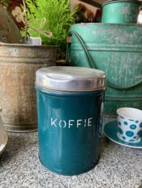Voorraadbus koffie