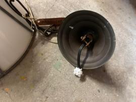 Hanglamp met glas-in-lood kap