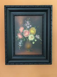Schilderij stilleven van bloemen