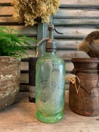Sifon | spuitfles groen glas