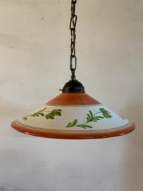 Hanglamp met keramiek kap