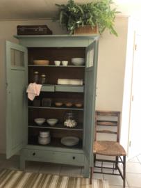 Servieskast vintage groen