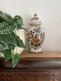 Dekselpot Delfts Flora - 30 cm