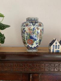 Bolle vaas van Boch aardewerk