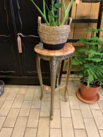 Hoge plantentafel marmerblad