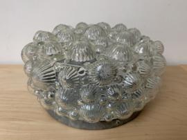 Plafondlamp rond - helder glas