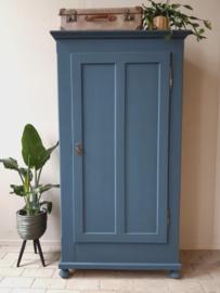 1-deurs kast Frans blauw