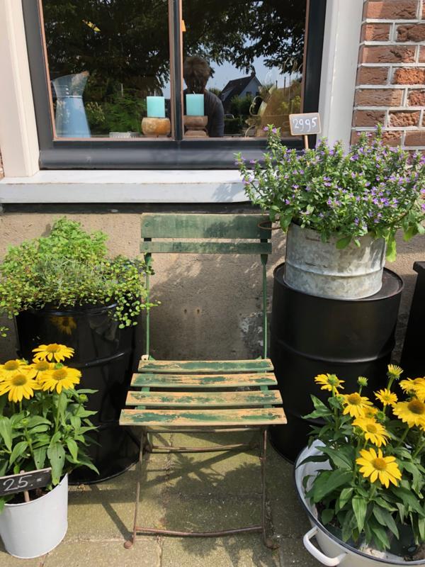 Groen stoeltje