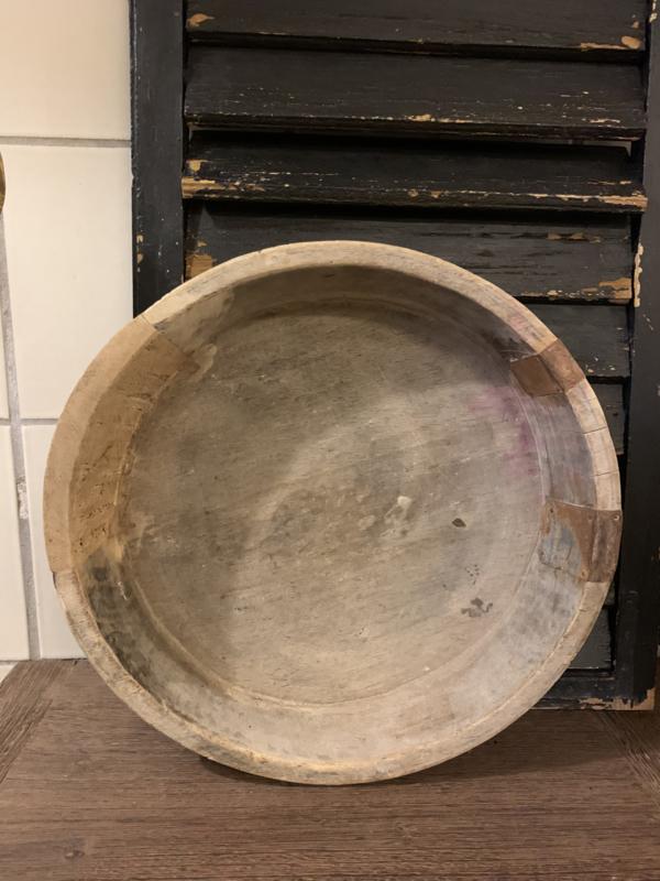 Houten ronde bak Ø 42cm
