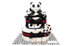 Pampertaart - luiertaart panda