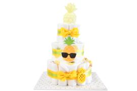 Pampertaart - luiertaart ananas