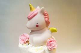 Pampertaart  - luiertaart unicorn