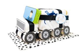 Pampertaart - luiertaart vrachtwagen