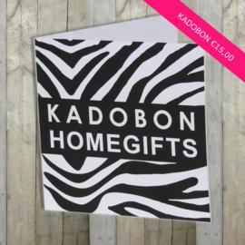Kadobon €15,00