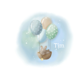 """Rouwkaart """"Tim"""""""