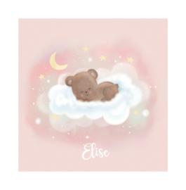 "Rouwkaart ""Elise"""