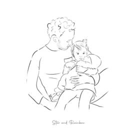 Papa★ en kinderen