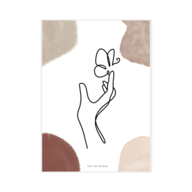 """Art Print """"Touched"""""""