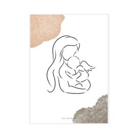 """Art Print """"Angel Girl"""""""