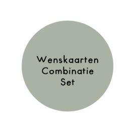 Wenskaarten combinatie SET (5)