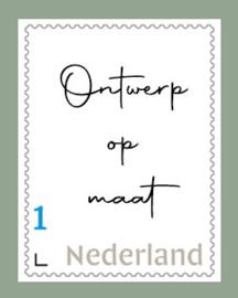 Postzegel op maat