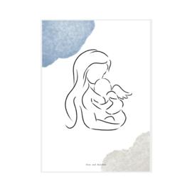 "Art Print ""Angel Boy"""
