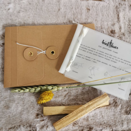 Briefkaars (japanse craft)