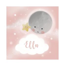 """Rouwkaart """"Ella"""""""