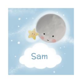 "Rouwkaart ""Sam"""