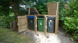 Container ombouw trio