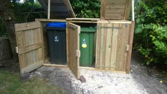 Container ombouw enkel