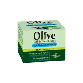 Face Anti-Aging Cream Olive Oil & Panthenol 50ml