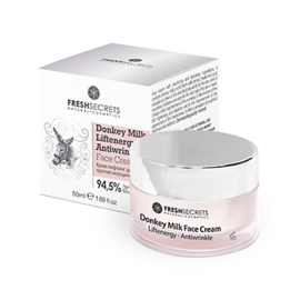 Fresh Secrets Liftenergy Anti-Rimpel Gezichtscrème *Ezelinnenmelk* 50ml