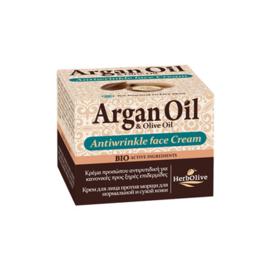 Argan Anti-Wrinkle Cream Normal & Dry Skin 50ml