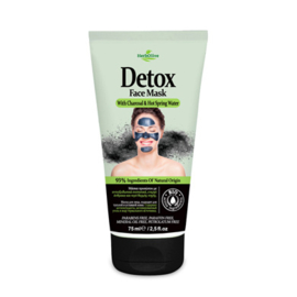 Gezichts Masker Detox Houtskool & Heet Bronwater 75ml