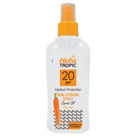Zon Lotion Wortel Spray SPF20 200ml