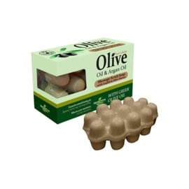 Soap Massage Olive Oil & Argan Oil 100g