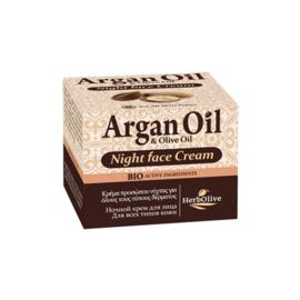Argan Night Cream all skin types 50ml