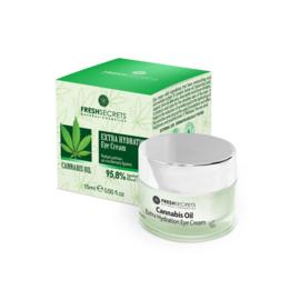 Fresh Secrets Eye Cream Extra Hydration *Cannabis* 15ml