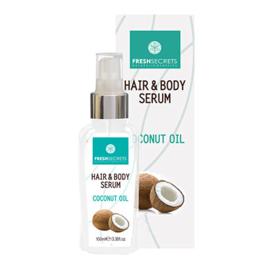 Fresh Secrets Haar & Body Serum *Kokosnoot* 100ml