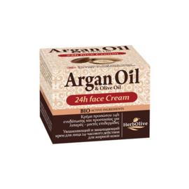 Argan 24H Moisturizing Cream Oily & Combination Skin 50ml