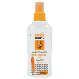 Zon Lotion Wortel Spray SPF15 200ml