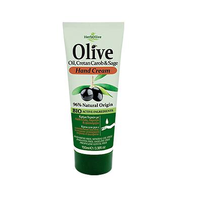 Hand cream Olive Oil, Cretan Carob & Sage 100ml