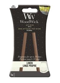 Woodwick Auto Reeds Refill - Linen