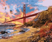 Schilderen Op Nummer - Golden Gate Bridge