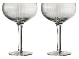 Gusta - Cocktail Glazenset Tweedelig