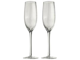 Gusta - Champagne Glazenset Tweedelig