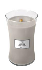 Woodwick Large Candle - Sacred Smoke